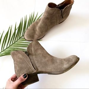 Lucky Brand | Side Zipper Ankle Booties